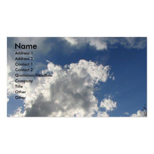 Beautiful Sky Business Card Template