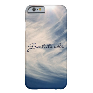 Beautiful Sky & Gratitude Inspires Custom Barely There iPhone 6 Case