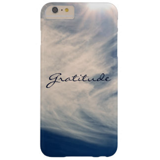 Beautiful Sky & Gratitude Inspires Custom Barely There iPhone 6 Plus Case