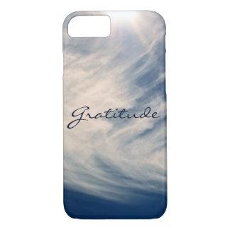 Beautiful Sky & Gratitude Inspires Custom iPhone 8/7 Case