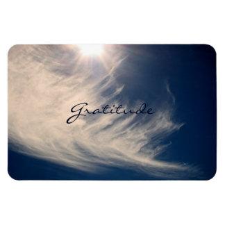 Beautiful Sky & Gratitude Inspires Custom Magnet