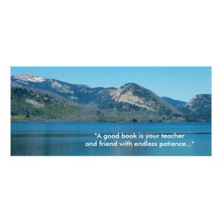 beautiful sky, lake and mountain Grand Teton Rack Card