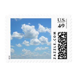 Beautiful Sky Postage Stamps