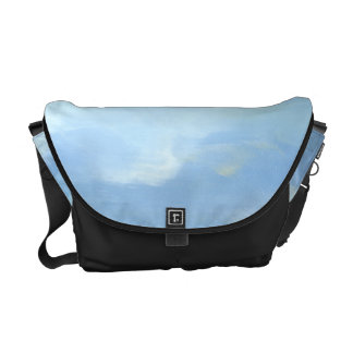 Beautiful Skyscape with Fluffy Clouds Courier Bag