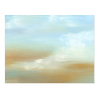 Beautiful Skyscape with Fluffy Clouds Postcard