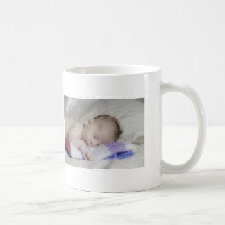 Beautiful Sleeping Newborn Baby Coffee Mug