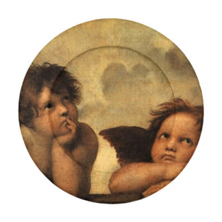 Beautiful Small Raphael Angels Art Button Covers