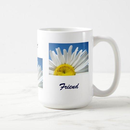 Beautiful Smart Friend coffee mugs Daisy Flowers