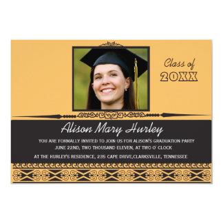 Beautiful smile - Photo graduation announcement ca