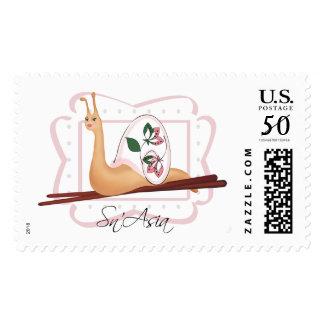 Beautiful Sn'Asia Snail v.2 Stamp