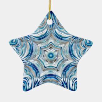 Beautiful Snowflake Star Ornament