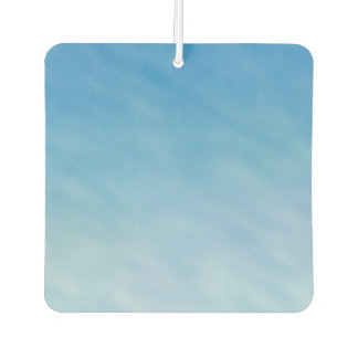 Beautiful Soft Blue Sky with Dreamy Clouds Car Air Freshener