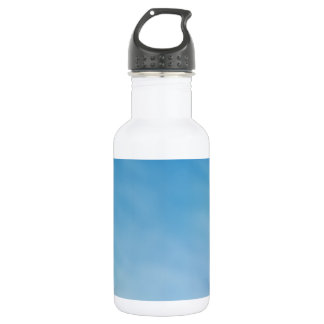 Beautiful Soft Blue Sky with Dreamy Clouds 18oz Water Bottle