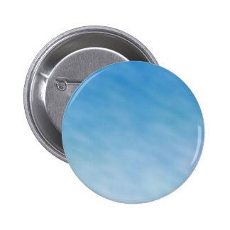 Beautiful Soft Blue Sky with Dreamy Clouds Pinback Button