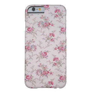 Beautiful soft vintage roses and leaves barely there iPhone 6 case