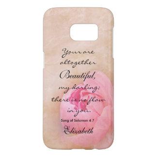 Beautiful (Song of Solomon 4:7) Samsung Galaxy S7 Case