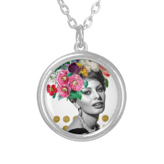 Beautiful Sophia Silver Plated Necklace
