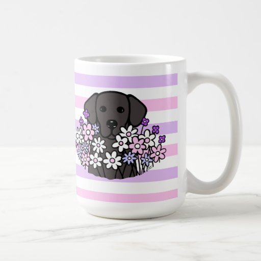 Beautiful Soul Black Labrador Stripes Mug