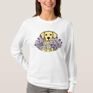 Beautiful Soul Yellow Labrador Illustration 2 T-Shirt