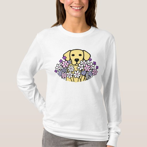 Beautiful Soul Yellow Labrador Illustration 2 T-Shirt