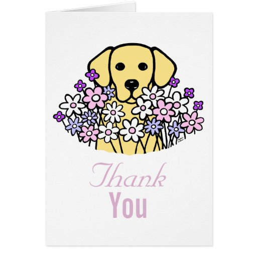 Beautiful Soul Yellow Labrador Illustration Card