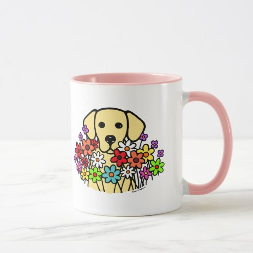 Beautiful Soul Yellow Labrador Illustration Mug