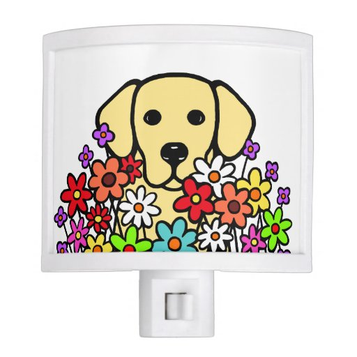 Beautiful Soul Yellow Labrador Illustration Night Light