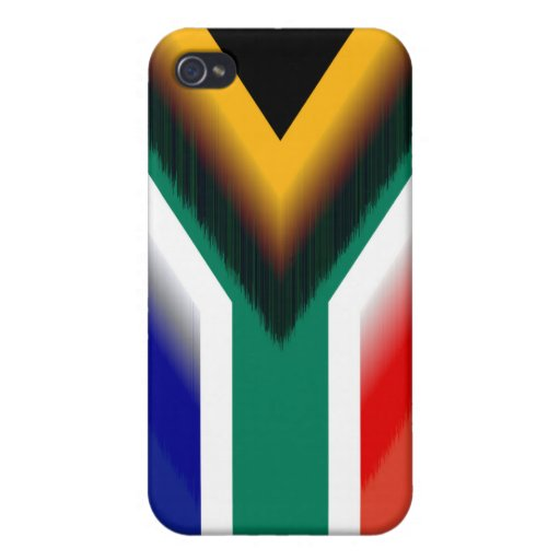 Beautiful South Africa Flag iPhone 4/4S Case