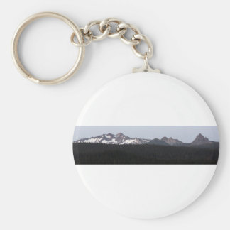 Beautiful Southern Oregon Cascades Keychain