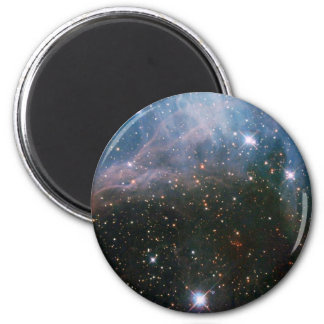 beautiful space image 2 inch round magnet