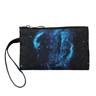 Beautiful space image coin purse
