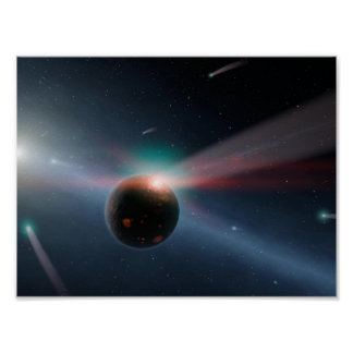 Beautiful space image poster