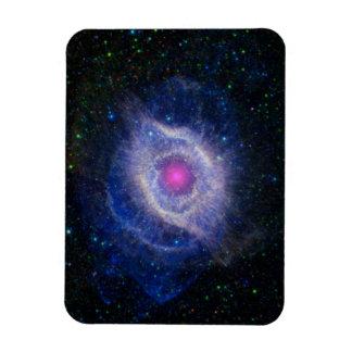 beautiful space image rectangular photo magnet