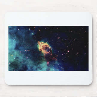 Beautiful Space Nebula Mouse Pad