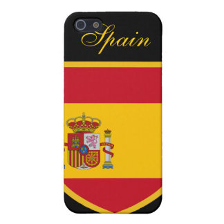 Beautiful Spain Flag Covers For iPhone 5