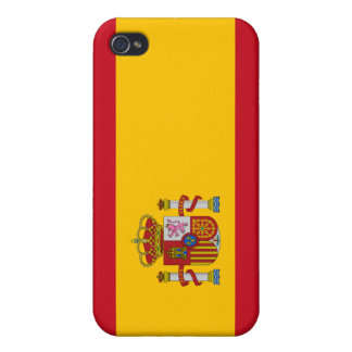 Beautiful Spain Flag iPhone 4 Cases