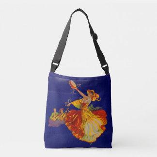 beautiful Spanish dancer Crossbody Bag