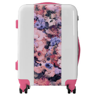 Beautiful Spring Floral Luggage