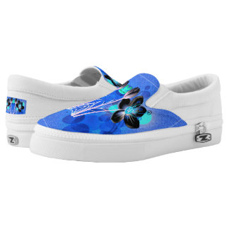 Beautiful Spring Flower Zipz SlipOn-Shoes US-Women Slip-On Sneakers
