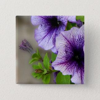Beautiful spring flowers purple button