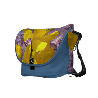 Beautiful Spring Messener Bag Daffodils Blossoms Courier Bags