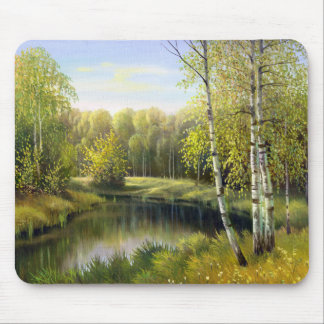 Beautiful Spring Painting Mouse Pad