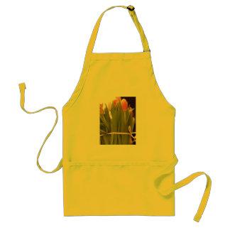 Beautiful Spring Tulip Bouquet Adult Apron