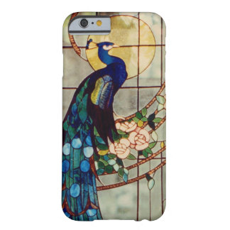 Beautiful Stained Glass Peacock Barely There iPhone 6 Case