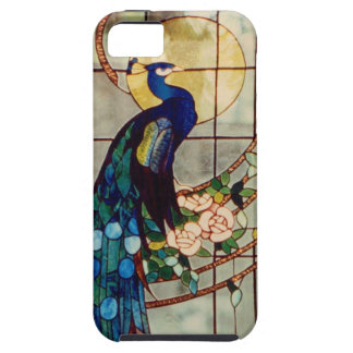 Beautiful Stained Glass Peacock iPhone SE/5/5s Case