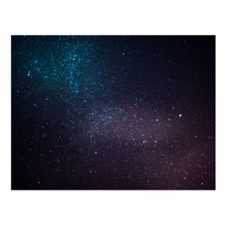 Beautiful starry sky post cards