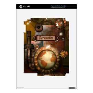 Beautiful Steampunk Personalized iPad Skin