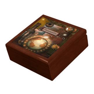 Beautiful Steampunk Personalized Jewelry Box