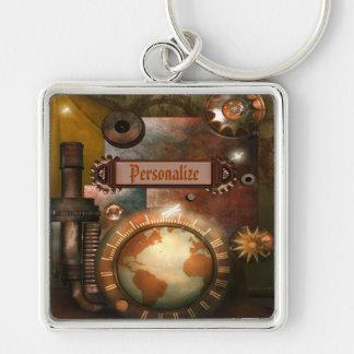Beautiful Steampunk Personalized Key Chain