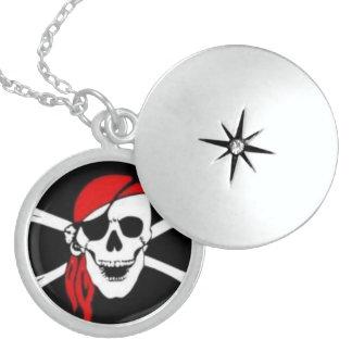 BEAUTIFUL Sterling Silver Pirate Locket